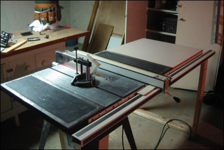 my 'new to me' table saw